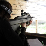 Wife with FN Herstal FN2000