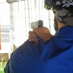 Shooting a 9mm Glock