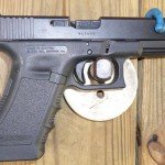 9mm Glock Semi Automatic Pistol