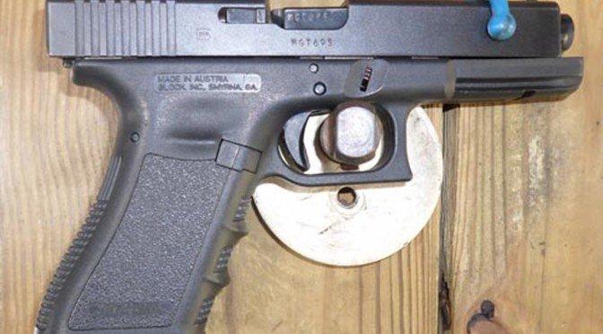 9mm Glock Semi Automatic Pistol