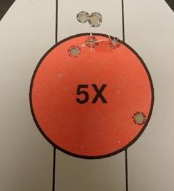 9mm Glock Target